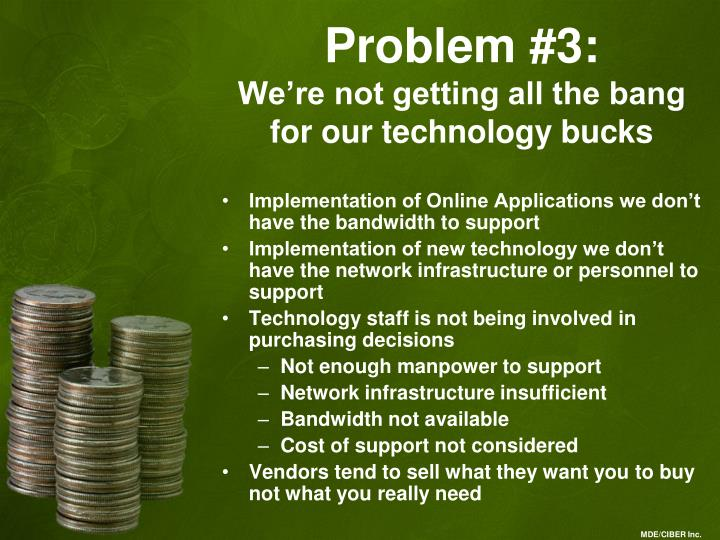 Problem #3: