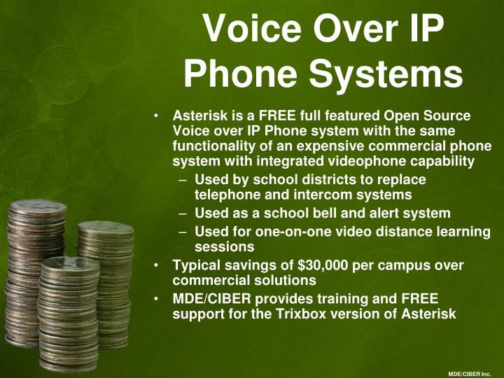 Voice Over IP Phone Systems