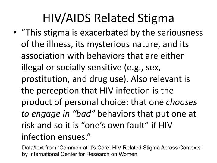 HIV/AIDS Related Stigma
