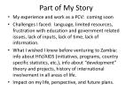 part of my story