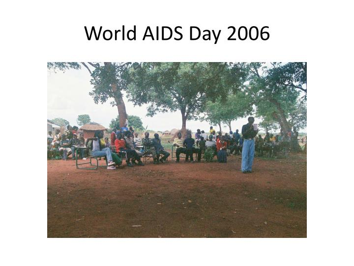 World AIDS Day 2006