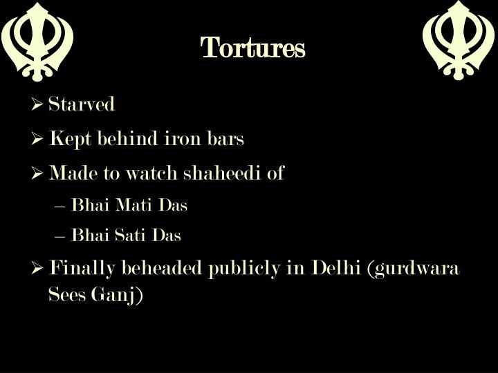 Tortures