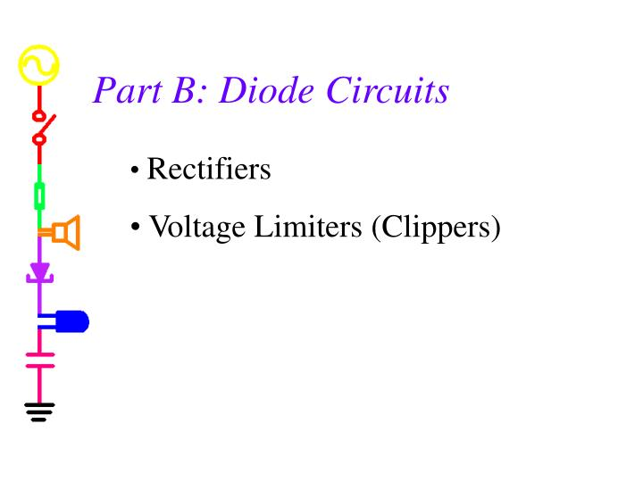 Part B: Diode Circuits