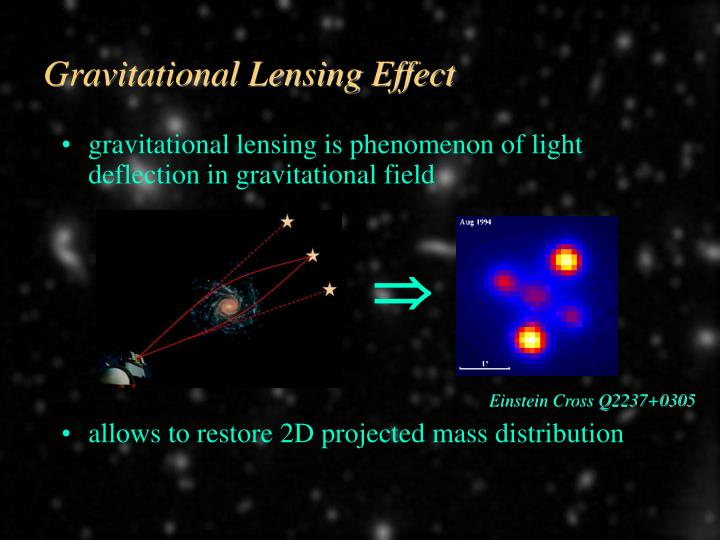 Gravitational Lensing Effect