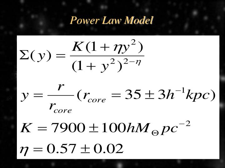 Power Law Model