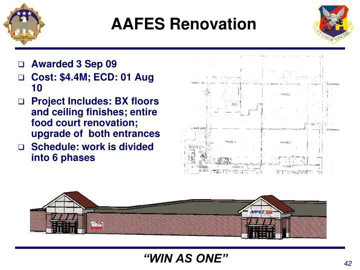 AAFES Renovation