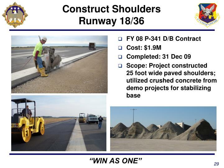 Construct Shoulders