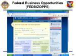 federal business opportunities fedbizopps