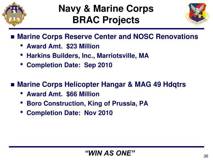 Navy & Marine Corps
