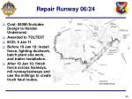 repair runway 06 24