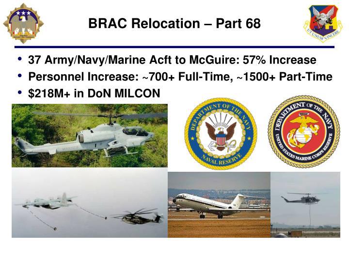 BRAC Relocation – Part 68