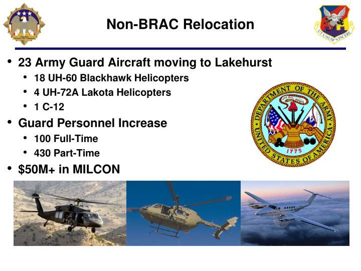 Non-BRAC Relocation