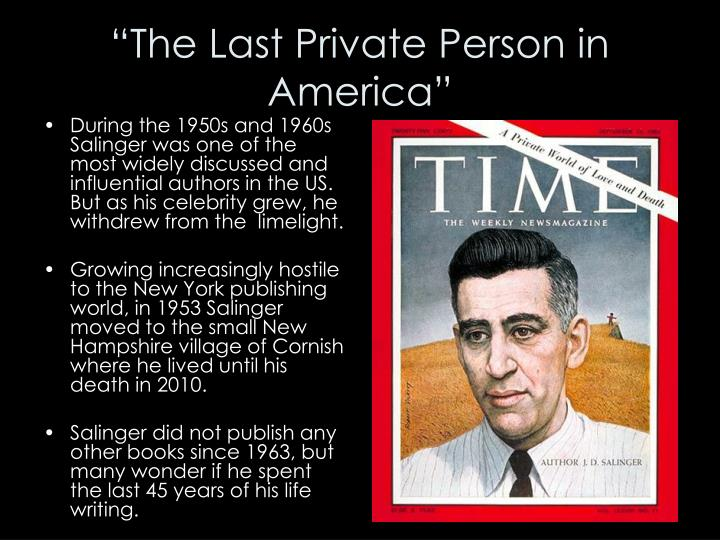 """The Last Private Person in America"""