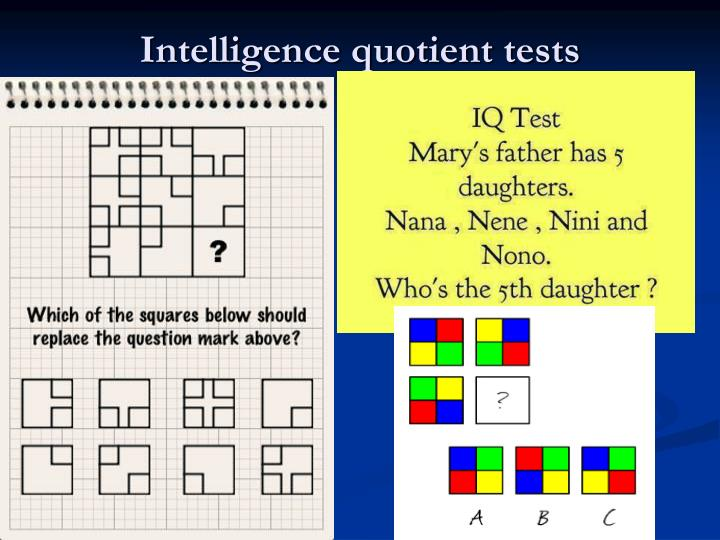 intelligence quotient test questions Free real iq test get your iq score fast and accurate test how smart you are in just a few minutes with this short online iq test 1 search when you complete a free iq test you will get an estimate of your iq score or the number of questions you answered correctly.