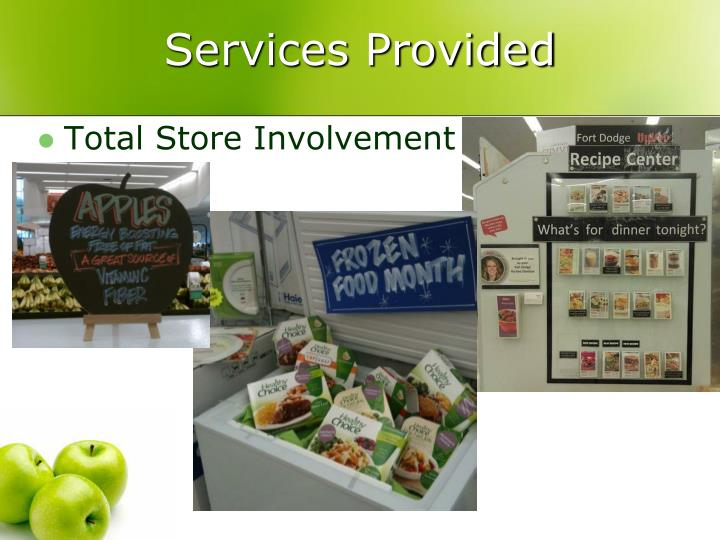 Services Provided