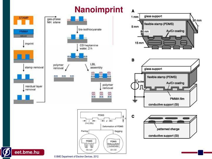 Nanoimprint