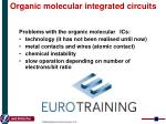 o rganic molecular integrated circuits2
