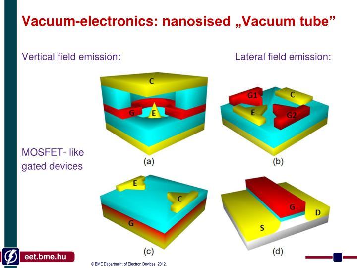 Vacuum-electronics: n