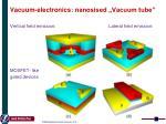 vacuum electronics n anosised vacuum tube