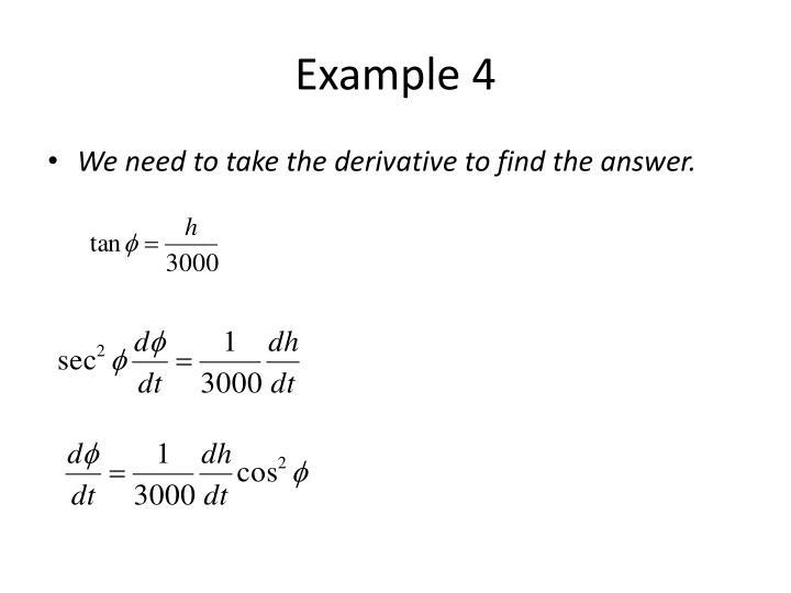 Example 4