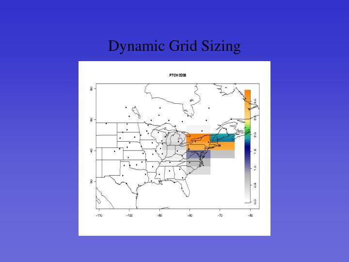 Dynamic Grid Sizing
