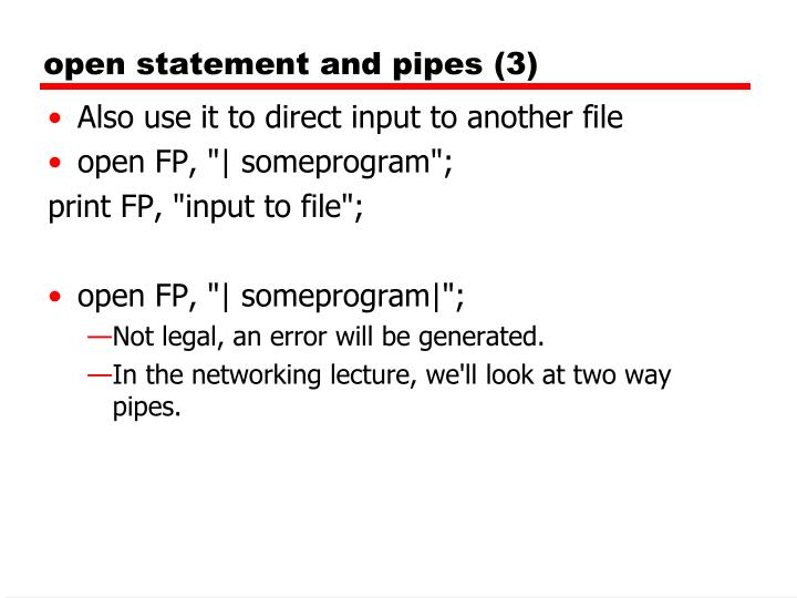 open statement and pipes (3)