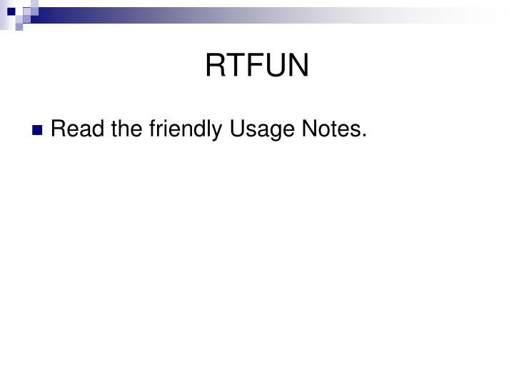RTFUN