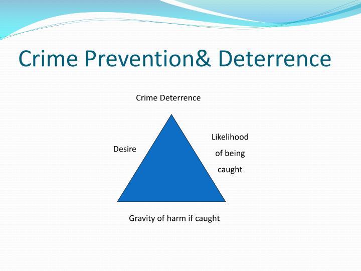 Crime Prevention& Deterrence