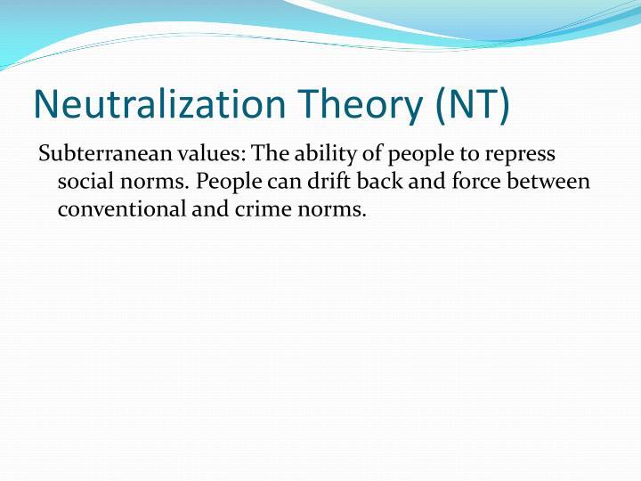 Neutralization Theory (NT)