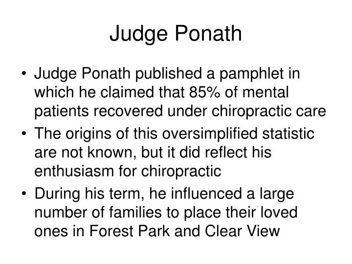 Judge Ponath