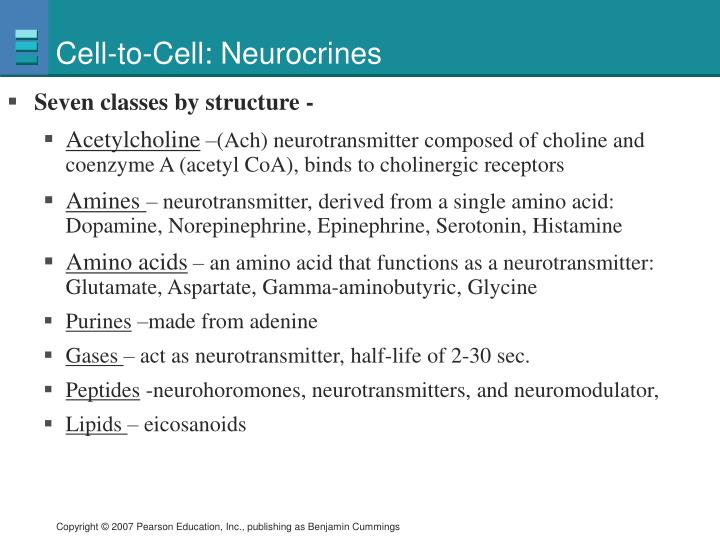 Cell-to-Cell: Neurocrines