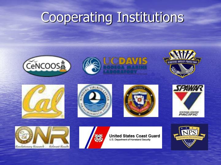 Cooperating Institutions