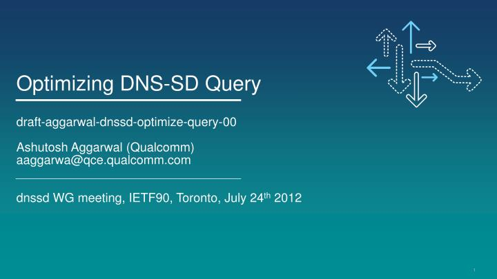 Optimizing DNS-SD Query
