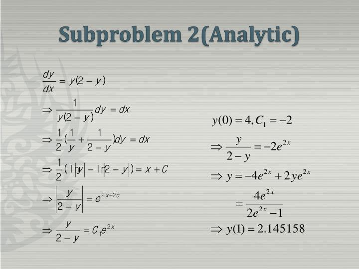 Subproblem