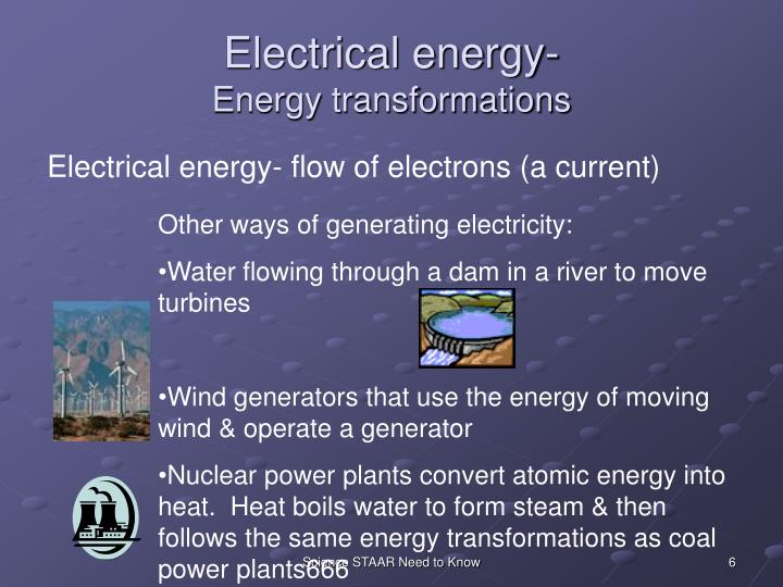 Electrical energy-