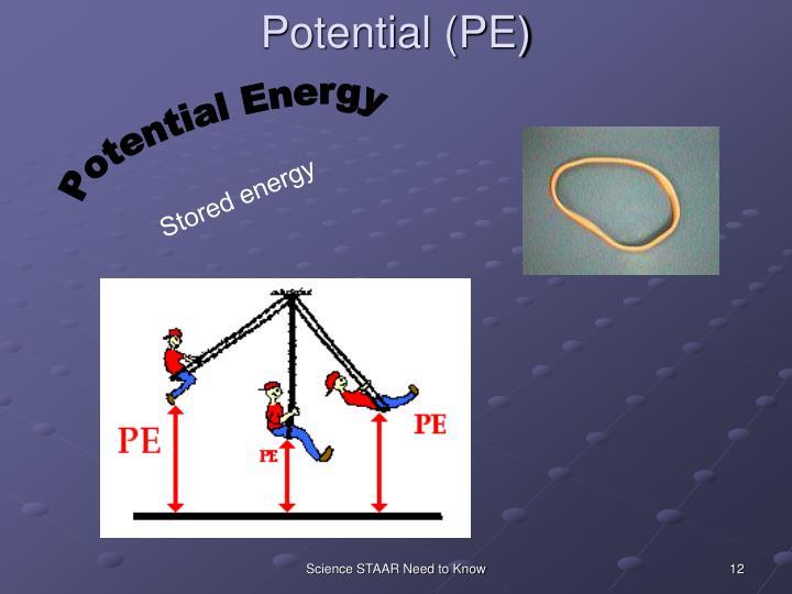 Potential (PE)