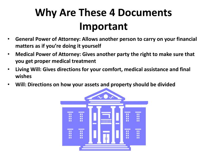 Why Are These 4 Documents Important