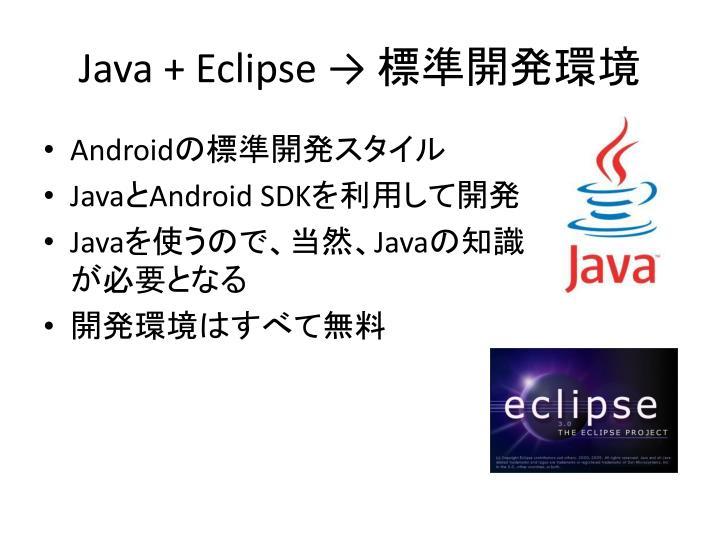 Java + Eclipse