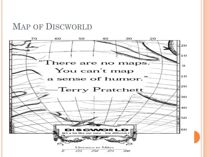 Map of Discworld