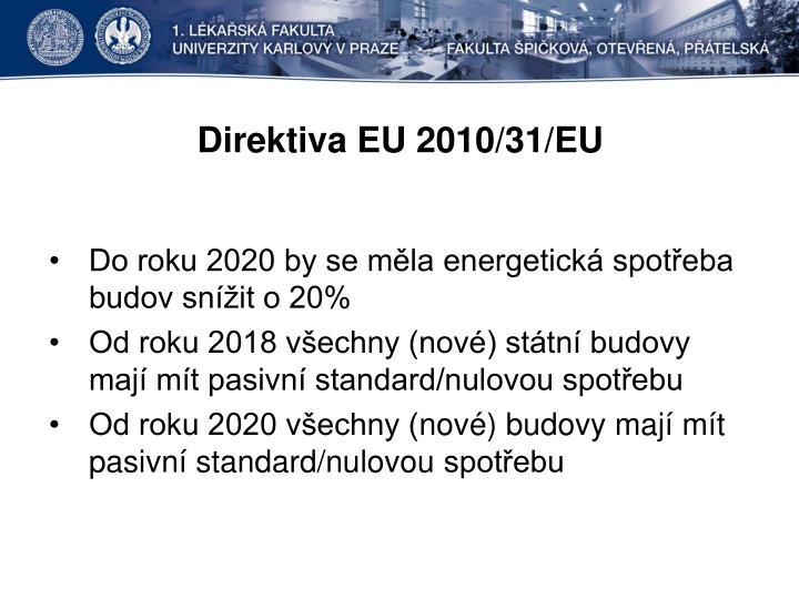 Direktiva EU 2010/31/EU