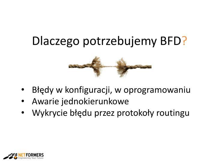 Dlaczego potrzebujemy BFD