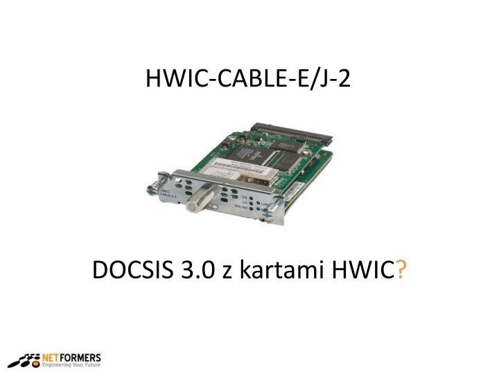 HWIC-CABLE-E/J-2