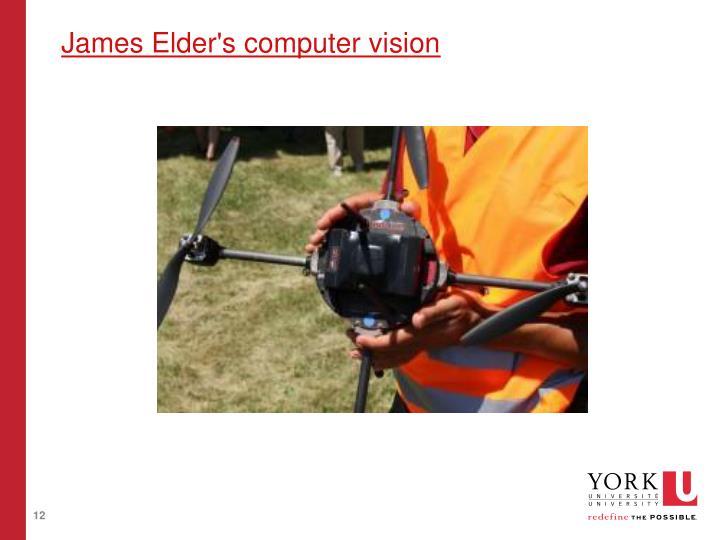 James Elder's computer vision