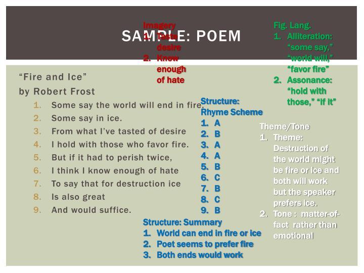 Sample: Poem