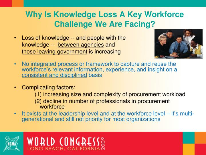 Why Is Knowledge Loss A Key Workforce Challenge We Are Facing?