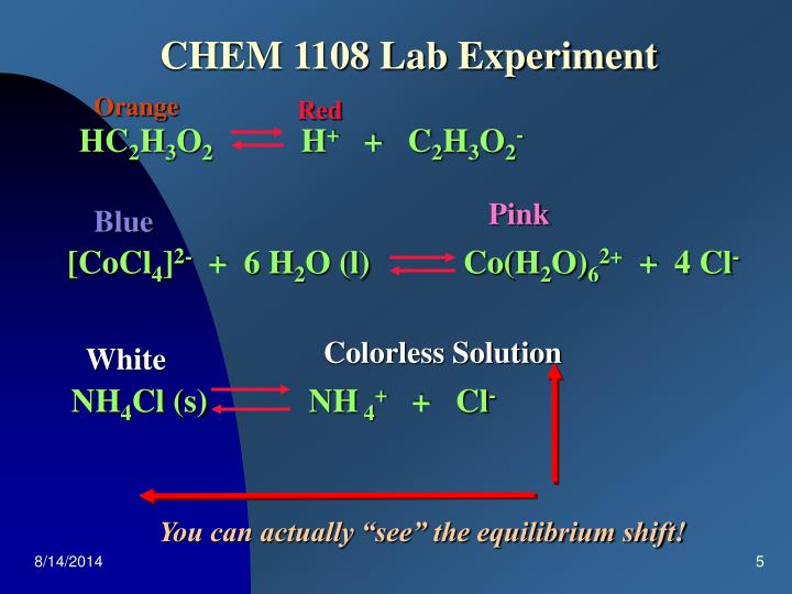 CHEM 1108 Lab Experiment