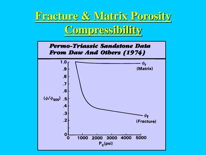 Fracture & Matrix Porosity