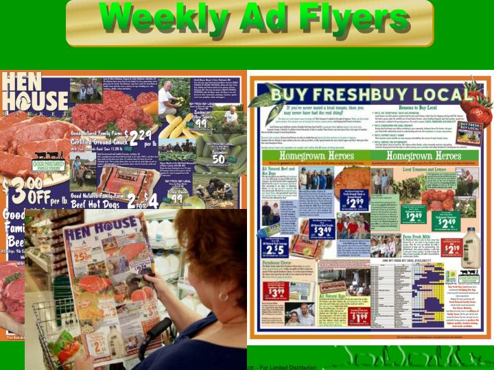 Weekly Ad Flyers