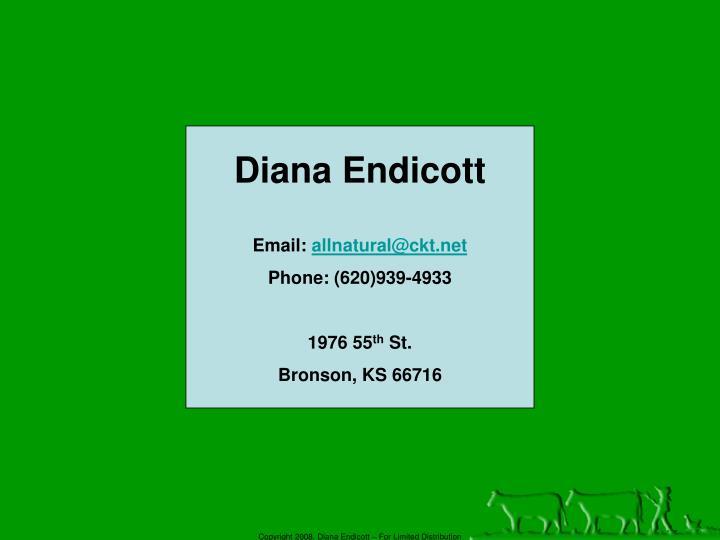 Diana Endicott