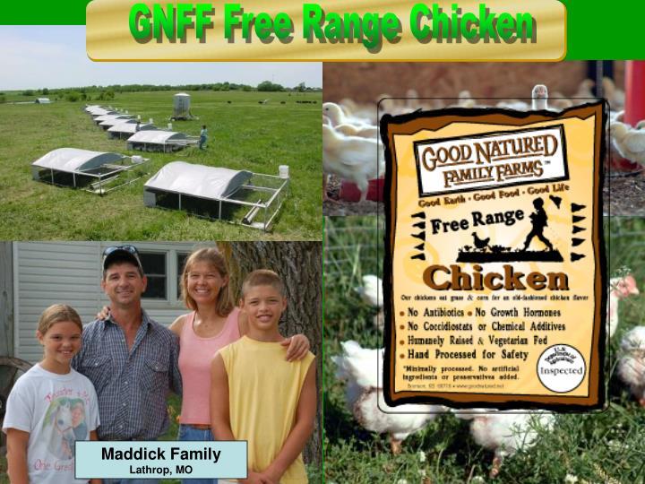 Maddick Family